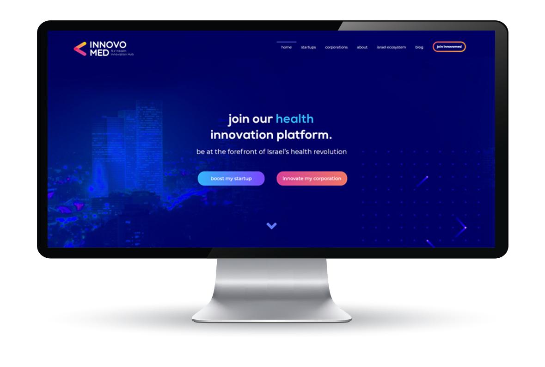 בניית אתר ל-innovomed
