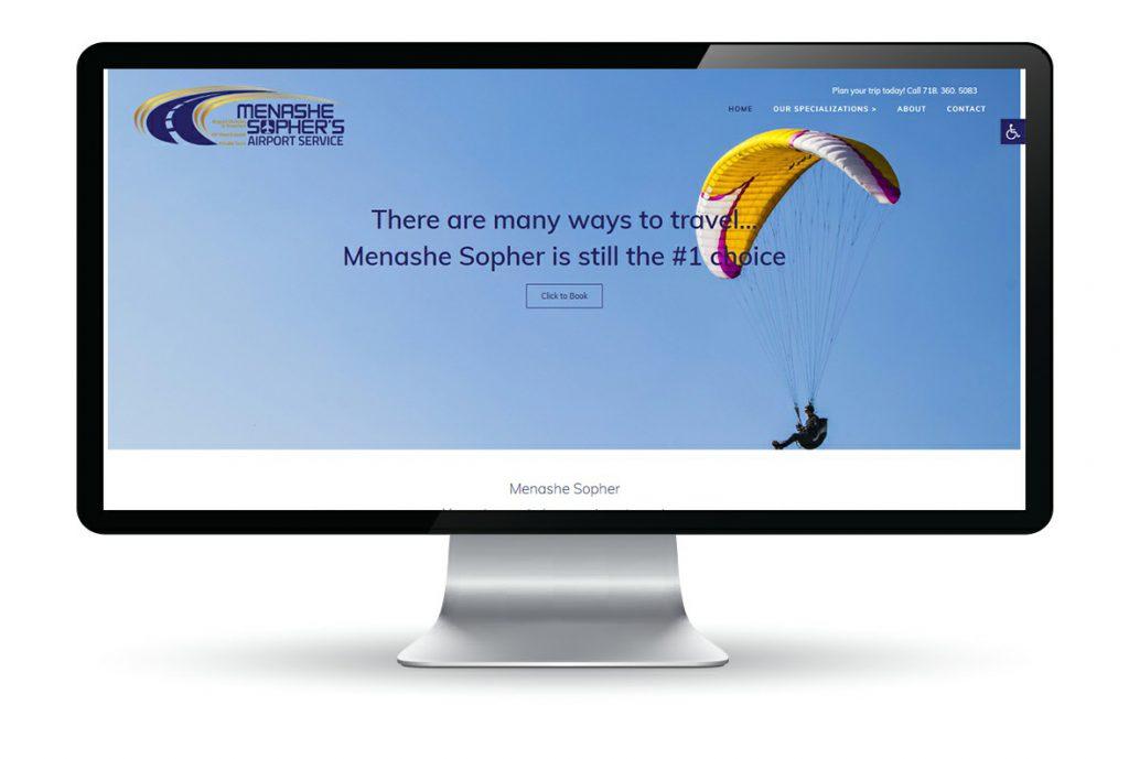 עיצוב ובניית אתר ל Menashe sopher's